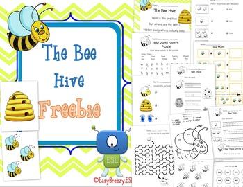 The Bee Hive FREEBIE
