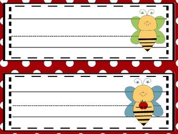 The Bee Hive Name Plates