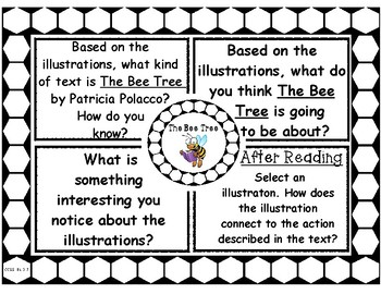 The Bee Tree by Patricia Polacco Think Pair Share Picture Walk Question Set