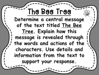 The Bee Tree by Patricia Polacco Reading Comprehension and Writing Bundle