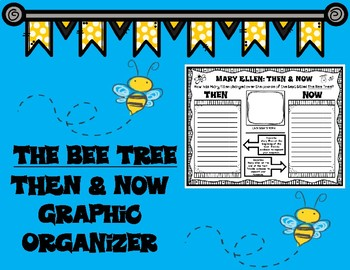 The Bee Tree by Patricia Polacco Then and Now Graphic Organizer