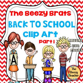 The Beezy Brats Back to School Clip Art Part 1