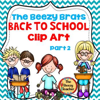 The Beezy Brats Back to School Clip Art Part 2