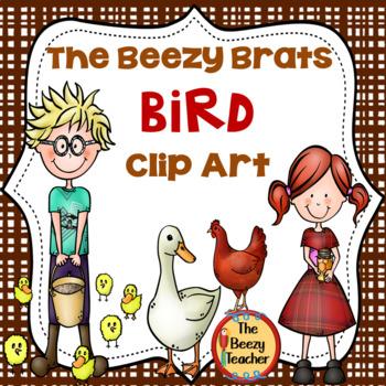 The Beezy Brats Bird Clip Art