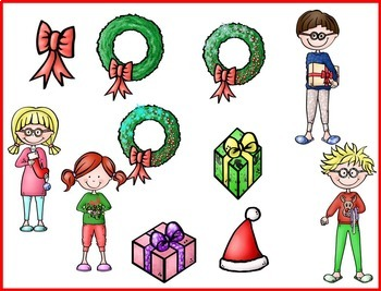 The Beezy Brats Christmas Clip Art