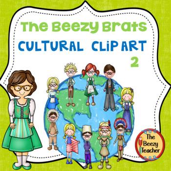 The Beezy Brats Cultural Clip Art Part 2