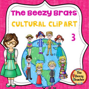 The Beezy Brats Cultural Clip Art Part 3