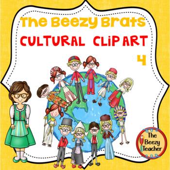 The Beezy Brats Cultural Clip Art Part 4