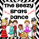 The Beezy Brats Dance Clip Art Freebie