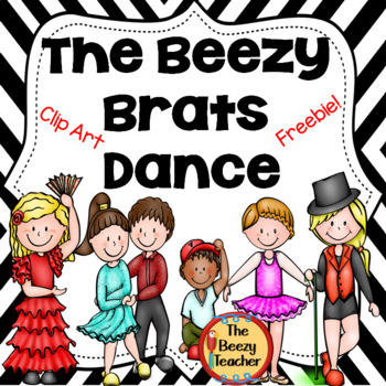 The Beezy Brats Dance Clip Art Freebie