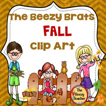 The Beezy Brats Fall Clip Art