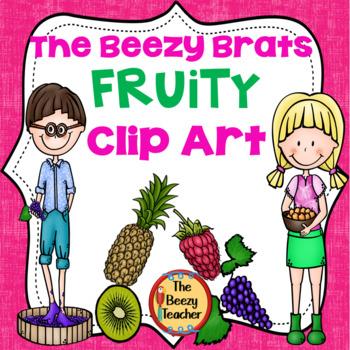 The Beezy Brats Fruity Clip Art