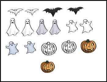 The Beezy Brats Halloween Clip Art