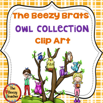 The Beezy Brats' Owl Collection