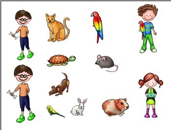 The Beezy Brats Pets Clip Art