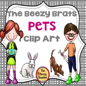 The Beezy Brats Pets Clip Art