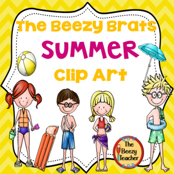 The Beezy Brats Summer Clip Art