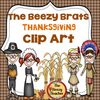 The Beezy Brats Thanksgiving Clip Art