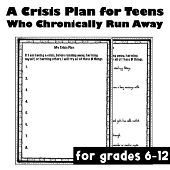 The Before You Run Away List (Harm Reduction, Trauma Informed)
