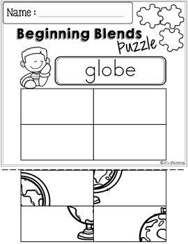 The Beginning Blends Activities (L-Blends)