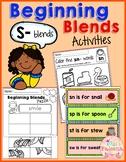 The Beginning Blends Activities (S-Blends)