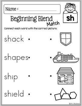 The Beginning Blends Activities (S-Blends)
