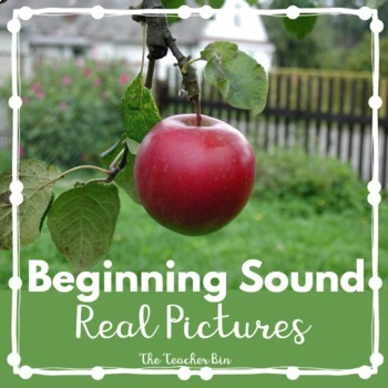 Sp. Ed. - Kindergarten- Beginning Sound Lotto- Photo-Letter Sort
