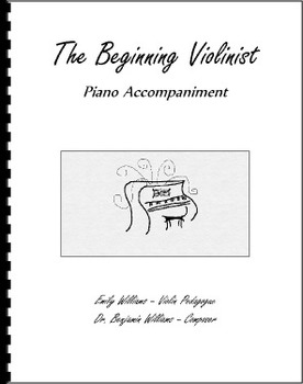 The Beginning Violinist: Piano Accompaniment