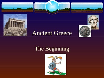 The Beginning of Ancient Greece
