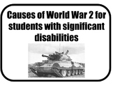 The Beginning of World War 2 for Students with Significant