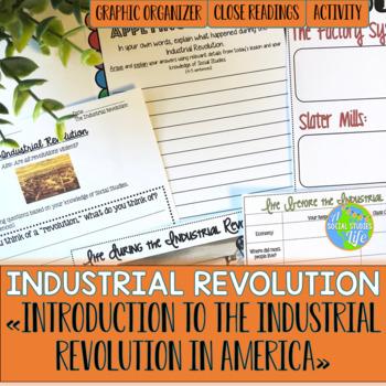 Industrial Revolution Begins in America