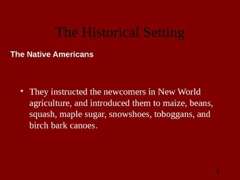 The Beginnings of American Literature
