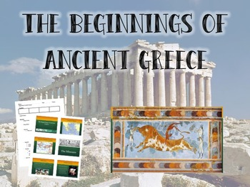 The Beginnings of Ancient Greece