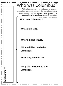 The Beginnings of Colonization: Christopher Columbus Encounters the Americas