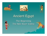 The Beginnining of the Nile River Valley