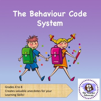 The Behaviour Code System - It WORKS!!