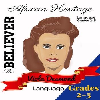 The Believer Series - VIOLA DESMOND/Black History/African Heritage/NO PREP