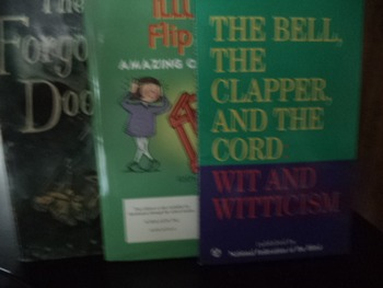 The Bell The Clapper & The Cord & Optical Illusion (set of 2)