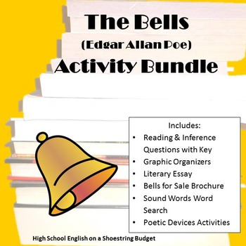 The Bells Activity Bundle (E. A. Poe) - PDF