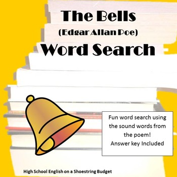 The Bells Word Search (E.A. Poe)