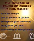 The Benefits of Taking AP Classes in High School (Poster)