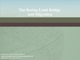 The Bering Land Bridge and Migration PowerPoint Mini-Lesson