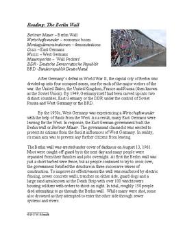 The Berlin Wall - Berliner Mauer