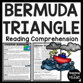 The Bermuda Triangle Reading Comprehension Worksheet Unexplained