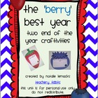 The 'Berry' Best Year: Two End-of-the-Year Craftivities