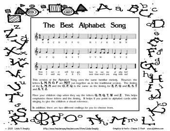 The Best Alphabet Song