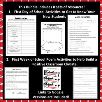 The Best Back to School Bundle for Middle School ELA Teachers