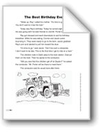 The Best Birthday Ever (Lexile 380)