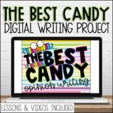 Digital Best Candy Google Slides Persuasive Writing Prompt