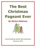 The Best Christmas Pageant Ever 24 page  Novel Guide